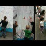 Tallentava Seinän väri – Seinälle kannettavan