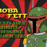 Boba Fett kills retro video game characters