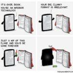 Livres vs. E-Readers