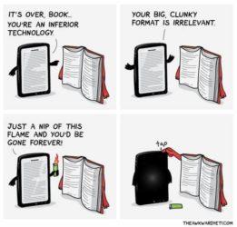 Books vs. E-Readers