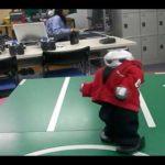 Breakdance Roboter Manoi