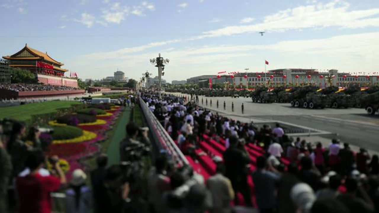 China's 60th Anniversary National Day – Timelapse'd and in Slow Motion