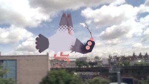 Der alternative Fackellauf der olympischen Spiele 2012 in London - Olympic Vermin