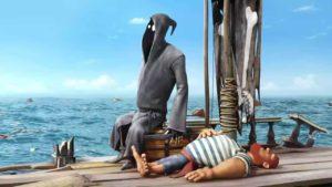 Dji. Death Sails oder wie der Sensenmann unfreiwillig zum Wassersportler wird