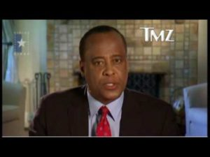 Dr. Conrad Murray Speaks