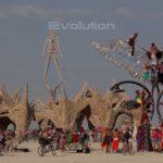 Évolution – Burning Man 2009 Timelapse