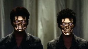 Face Hacking: Real-Time Face Tracking & 3D Projection Mapping