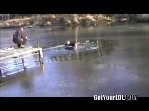 Fat Man vs Frozen Lake