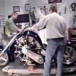 Ilma moottori pyörä