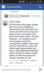I have really nothing against Pegida, but ...