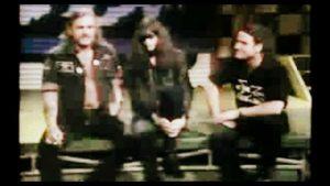 Joey Ramone und Lemmy (Motorhead)