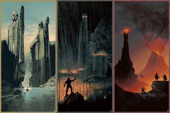 Matt Fergusons Lord Of The Rings Trilogy Print