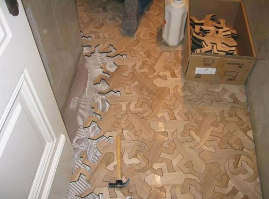 Floor with a difference