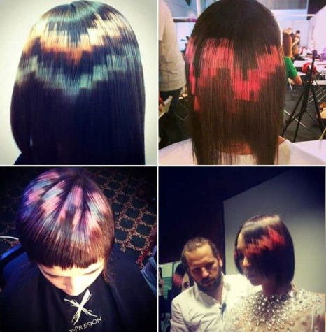Pikselit kuten hiusten väri