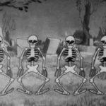 Squelette de danse