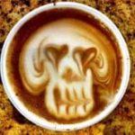 Czaszka kawy