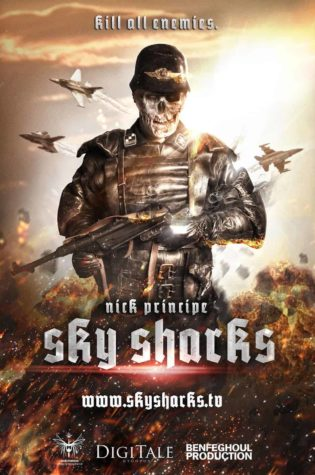 Sky Sharks - cartaz