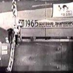 Slalom Skateboarding im Jahre 1965