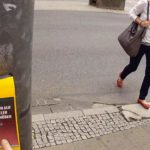 Street Pong – Gamble on pedestrian crossing