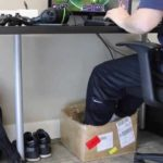 De Foot Hangmat: Verhit onder-the-desk-foot hangmat