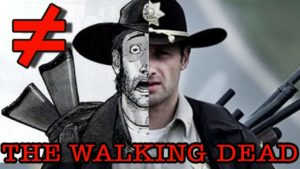 The Walking Dead: Serie & Comic im Vergleich