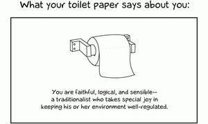 Was dein Toilettenpapier über dich aussagt