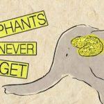 Waarom olifanten iets vergeten