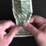 How to fold a koi from a dollar bill