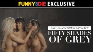 """5 Gründe warum Pornostars """"50 Shades of Grey"""" hassen"""