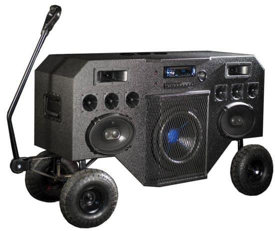 Boombox-Leiterwagen