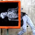 Street Art van Levalet