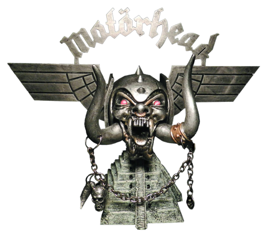 Motorheads Warpig estatua