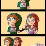 Ikke Zelda!