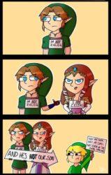 Not Zelda!
