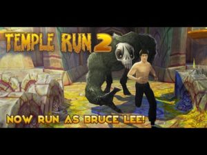 Bruce Lee on palannut: Temple Run 2