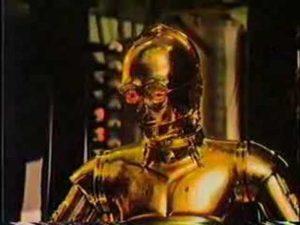 C3PO und R2D2 sind gegen das Rauchen