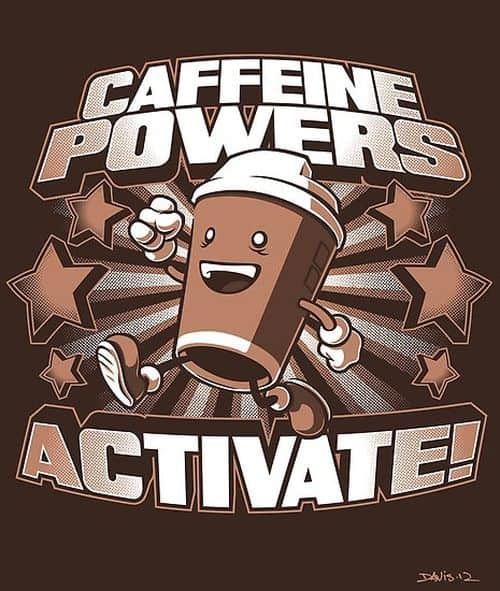 Koffein Powers Aktivera