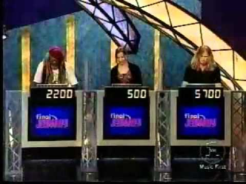 Dave mustaine celebrity jeopardy videos