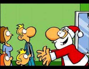 Der Weihnachtsmann: Ausgetrickst