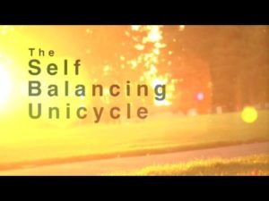 Elektrische Self Balancing Unicycle