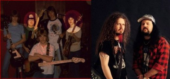 Dimebag en Vinnie Paul