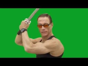 Make your own action movie starring Jean-Claude Van Damme