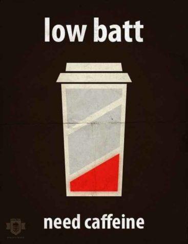 Niska batt - trzeba Caffeine