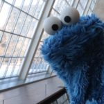 Simply Delicious Douche Gedachten met Cookie Monster