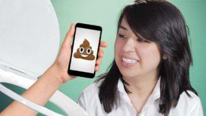 Smartphone vs.. Toilette: Che cosa è più sporca?