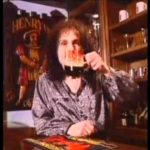 Circa 30 Anni commerciale birra con Ronnie James Dio