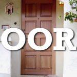 Witzige Werbung für Türen