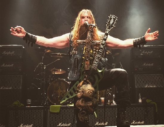 Black Label Society i katakomberna i Z7