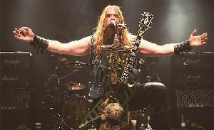 Black Label Society in den Katakomben des Z7