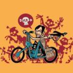 Daryl Dixon Motorsykkel skjorte